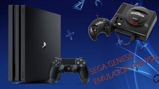 Genesis Emulator for PS4 (Homebrew)