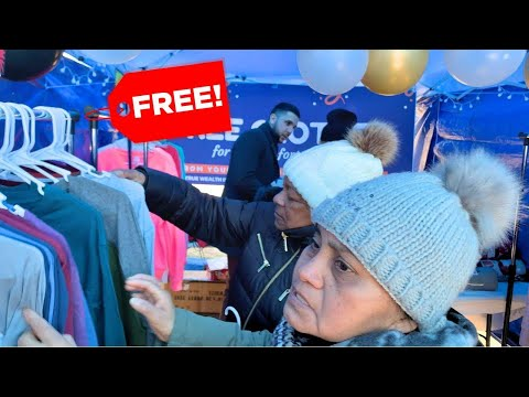 Surprising Homeless with Free Clothing Store!