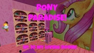 Pony Paradise! Ep.10 My Living Room! | Amy Lee33 | Mine Little Pony