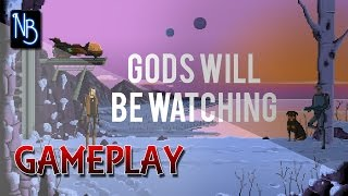 Gods Will Be Watching Gameplay