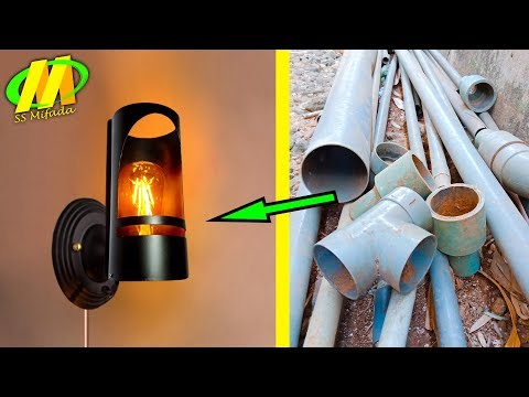Cara membuat lampu hias dinding rumah sederhana-bisnis kerajinan