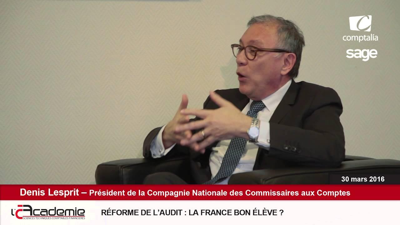 Les Entretiens de l'Académie : Denis Lesprit (3/7)