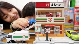 トミカビルドシティ セブンイレブン&スシロー Build a City Seven Eleven and Sushiro thumbnail