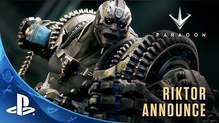 Paragon - Riktor Announce Trailer | PS4