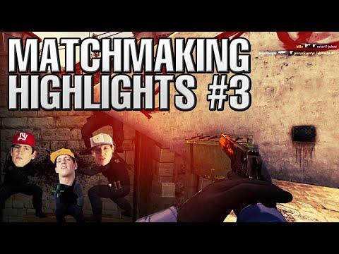 CS:GO Matchmaking Highlights #3 - BEST CREW EVER!