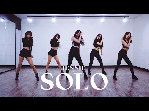 JENNIE 제니 'SOLO (솔로)' | 커버댄스 DANCE COVER | 안무 연습영상 거울모드 MIRRORED