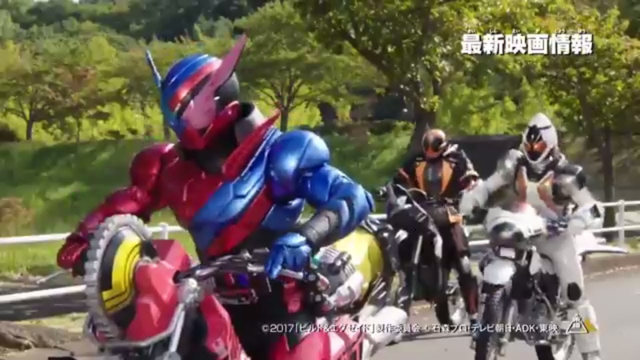 Kamen Rider Heisei Generations Final & Ex Aid with Legend Riders (2017)  Trailer Preview #4