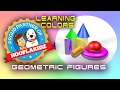 Kinder Surprise  egg and Geometric solids  Colors & 3D Shapes for BBTV
