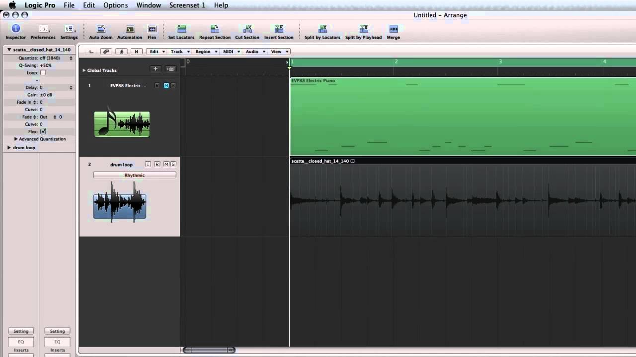 How to Create Groove Templates in Logic Pro - YouTube