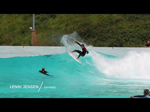 German Team Surf the Wavegarden Cove