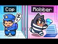 Playing As COPS and ROBBERS In Among Us!