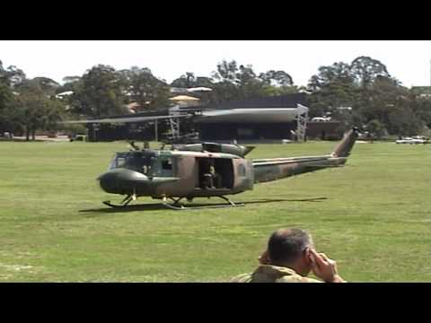 "Australian Army UH-1H Iroquois ""farewell flight"" 2007"