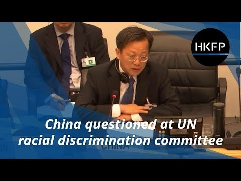 In full: China at the United Nations Committee on Elimination of Racial Discrimination Part 1