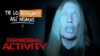 Actividad Paranormal, Orden Cronologico | Te Lo Resumo