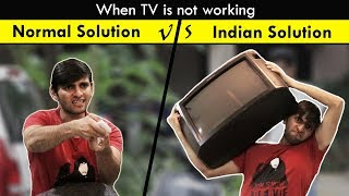 Normal vs Indian Solutions | Expectation vs Reality | Funcho Entertainment