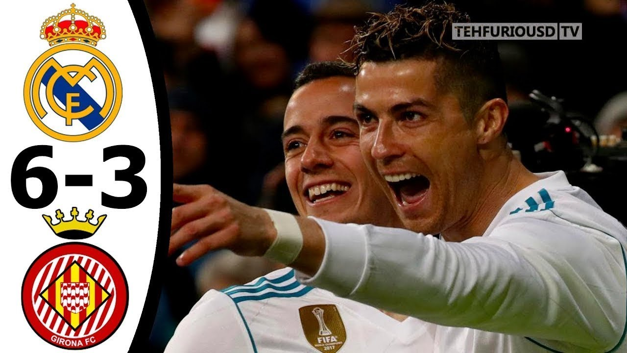Download Real Madrid vs Girona 6-3 All Goals and Highlights English Commentary 2017-18 HD 720p