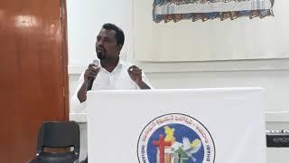 Sermon by brother K. Anand @ ICF Abu Dhabi