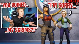 I confronted a GRIEFER after I BLOCKED him for ruining my scrims... (he is SORRY!)