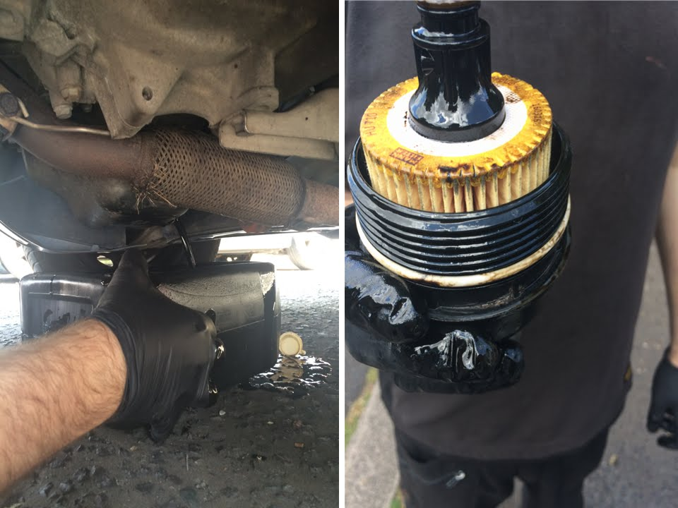 skoda fabia oil oil filter change youtube