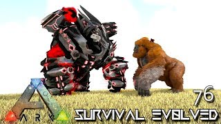 ARK: SURVIVAL EVOLVED - STRONGEST MEGAPITHECUS YET E76 !!! ( ARK EXTINCTION CORE MODDED )