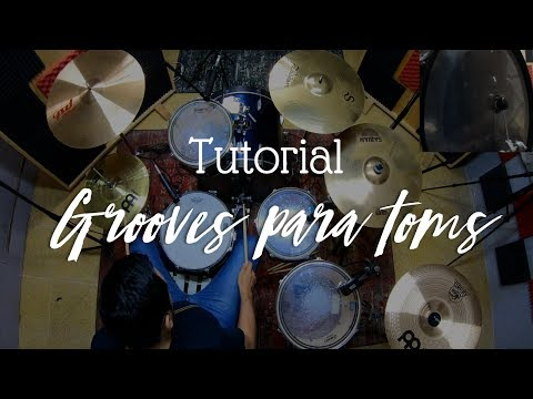 """Tutorial """"Grooves Para Toms"""" 🎧"""