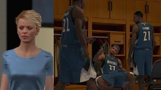 NBA 2K15 PS4 My Career - 1st Game Starting!