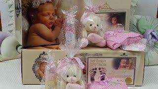 Embrulhando as Gêmeas Carolina e Mariana - Box Packing Reborn Doll