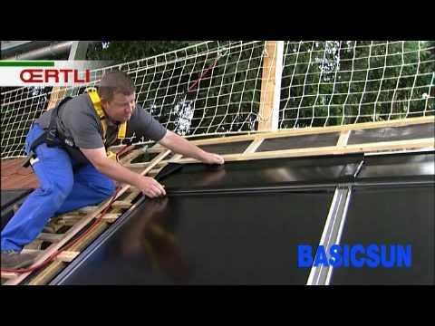 oertli chauffe eau solaire basicsun youtube. Black Bedroom Furniture Sets. Home Design Ideas