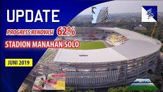 UPDATE STADION MANAHAN SOLO!!! PROGRESS PEMASANGAN ATAP, RUMPUT, FACADE DAN SINGLE SEAT DI TRIBUN