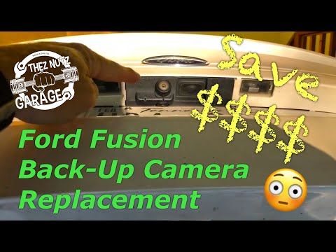 2014 Ford Fusion Back-Up Camera Replacement. Thez Nutz Garage