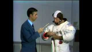 Fred Rogers meets Apollo 15 Astronaut Al Worden