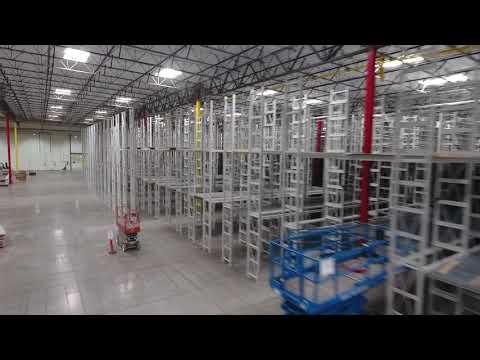 Culver Equipment setting up material handling