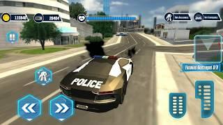 MOBIL POLISI BERUBAH JADI ROBOT\\ POLICE CAR  SO ROBOT # 2.
