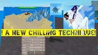 A new chilling technique chilly Fruit-One Piece Legendary-Roblox