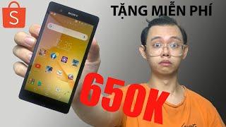 Thử Mua Sony Xperia Z Giá 650k Chơi Liên Quân, Free Fire, Pubg Và Cái Kết