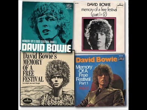 David Bowie - Memory of a Free Festival (Part 1 - single A-side)