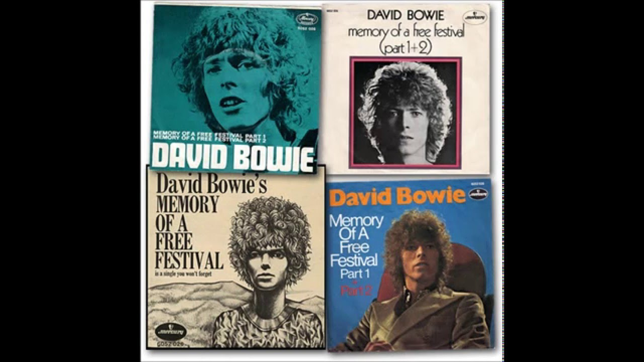 david bowie memory of a free festival
