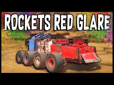 Crossout - THE ROCKETS RED GLARE! 4th Of July Build [Crossout Gameplay]