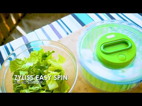 The Zyliss Easy Spin Salad Spinner