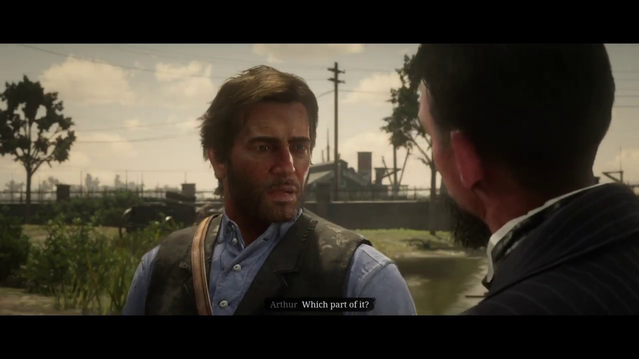 RDR2 Marko Dragic intro scene | A Bright Bouncing Boy | Red Dead Redemption 2