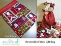 How to Sew a Reversible Fabric Gift Bag by Lisa Fulmer
