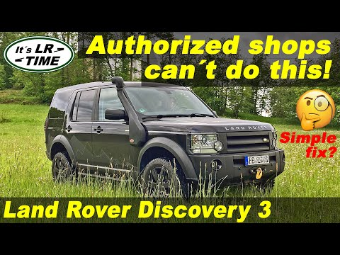 Land Rover Discovery 3 – LR3 – LR4 – How to replace the front differential pinion seal