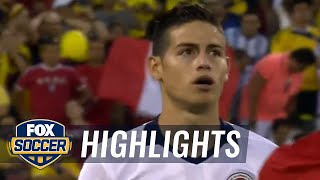 Peru vs. Colombia | 2016 Copa America Highlights