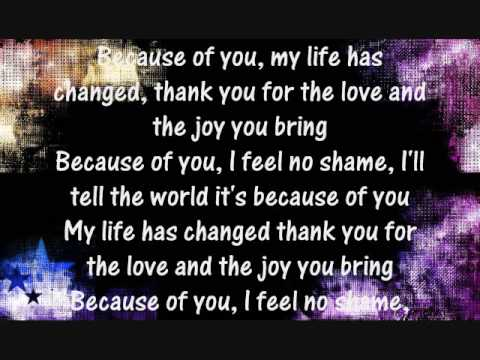 Keith Martin -Because Of You - FULL SONG + LYRICS