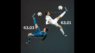 Video Cristiano Ronaldo VS Gareth Bale Bicycle Kick - Same Time (Real Madrid) download MP3, 3GP, MP4, WEBM, AVI, FLV Agustus 2018