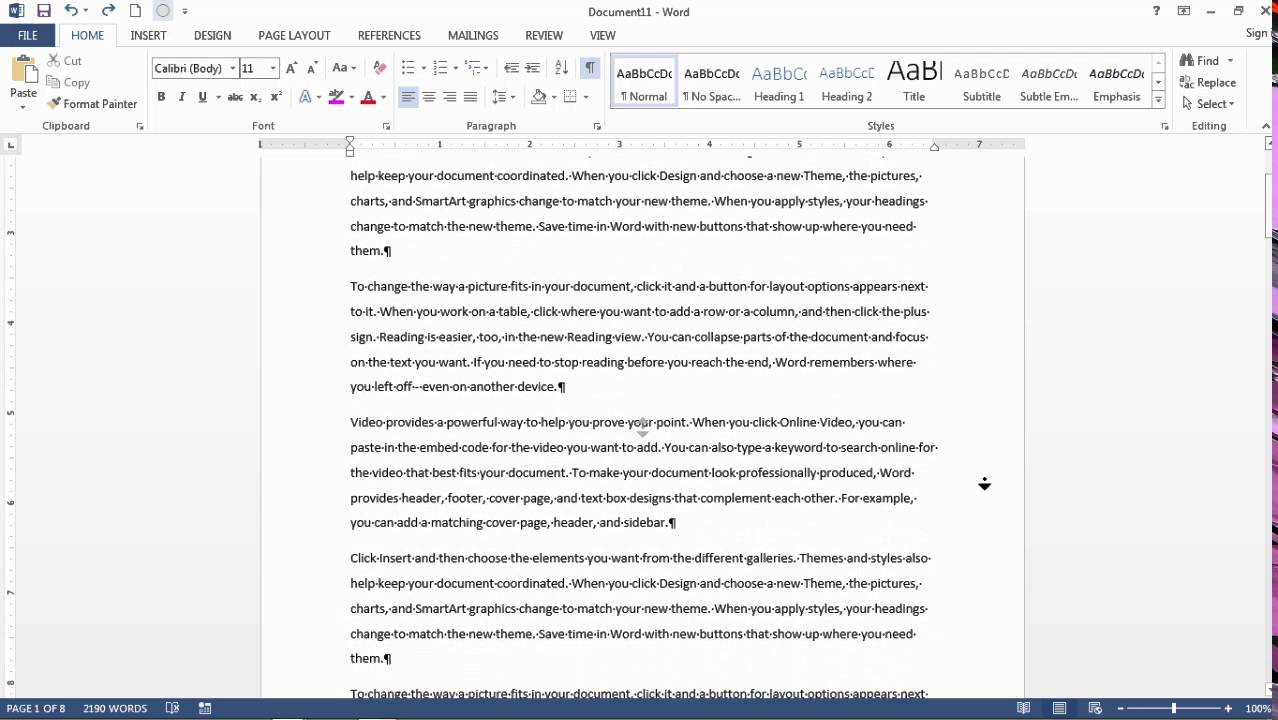 How To Auto Scroll in Word - Move Hands-Free Through a Word Document
