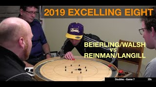 2019 Excelling Eight Crokinole - Doubles - Beierling/Walsh v Reinman/Langill