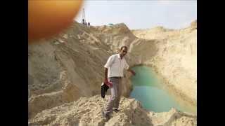 صور قناة السويس الجديدة : أول موقع تظهر فيه المياه فى قناة السويس الجديدة أغسطس 2014