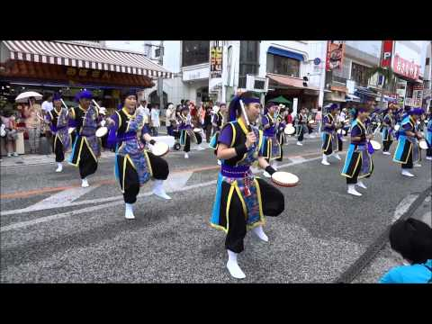 10,000 Eisa Dancers - Okinawa, Japan - August 3,2014