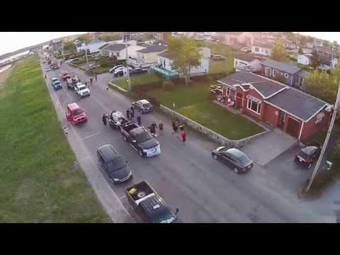 Parade des pompiers 2014 havre-saint-Pierre